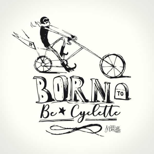 Born-to-be-cyclette-modele-blanc