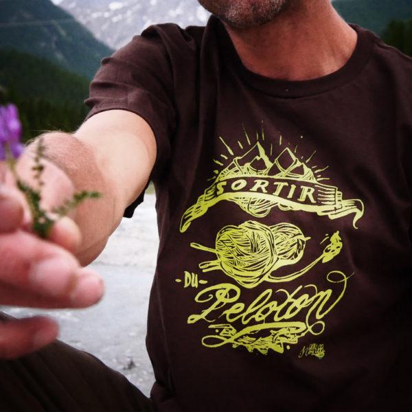 Tshirt-homme-sortir-du-peloton-photo