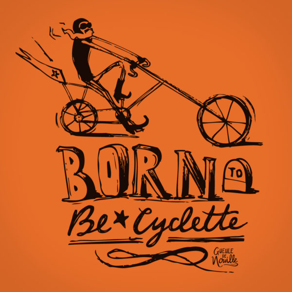 Born-to-be-cyclette-TSorange-dessin