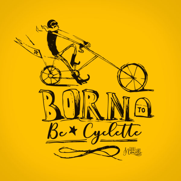 Born-to-be-cyclette-modele-jaune