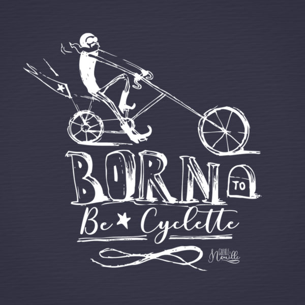 Born-to-be-cyclette-modele-navy