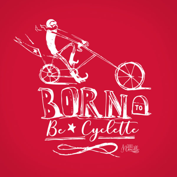Born-to-be-cyclette-modele-rouge